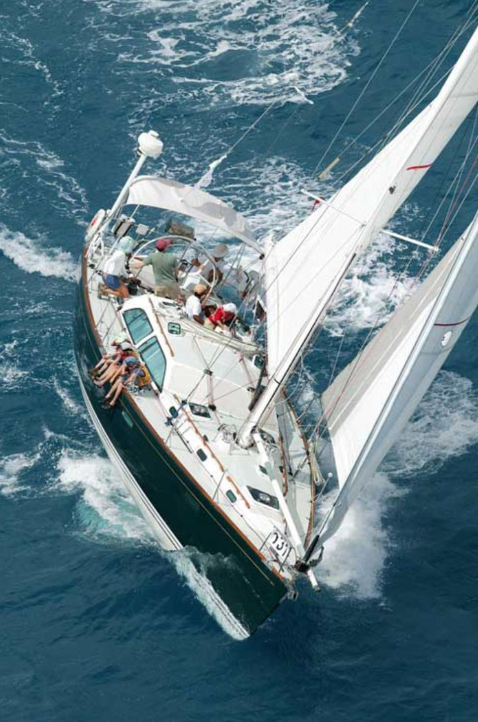 BBW is also known for their ability to build his-perfomance sailing yachts as well.