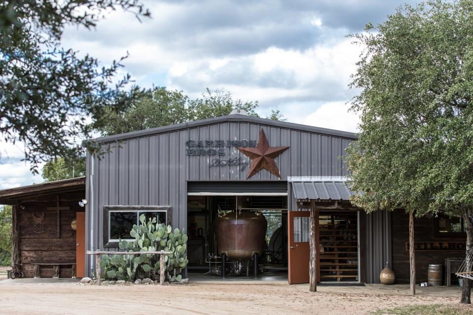 Garrison Brothers Distillery front building