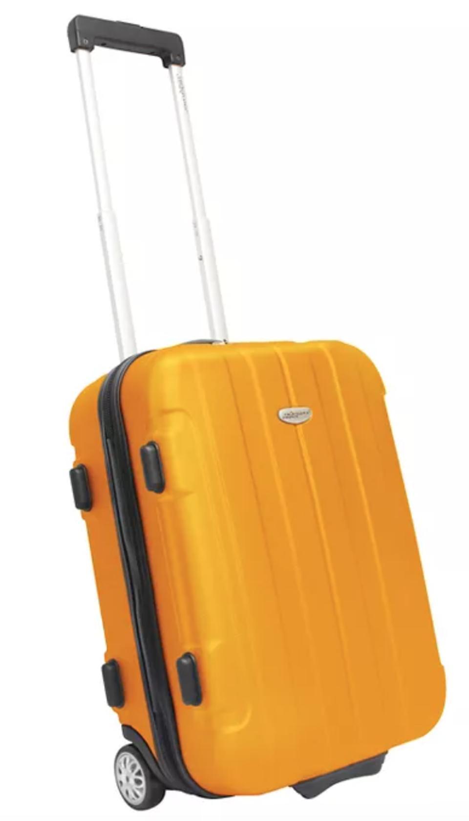 Traveler's Choice Rome 21 Hardside Carry On Suitcase - Orange