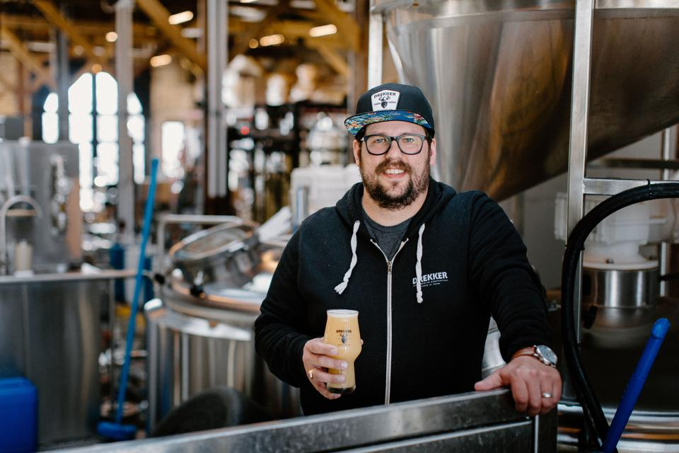 Mark Bjornstad, co-founder and president of North Dakota's Drekker Brewing Company, says his highly rated brewery started like many breweries: ″just a couple of friends brewing in a garage who loved great beer, had a crazy dream and worked their asses off to make it come true.″