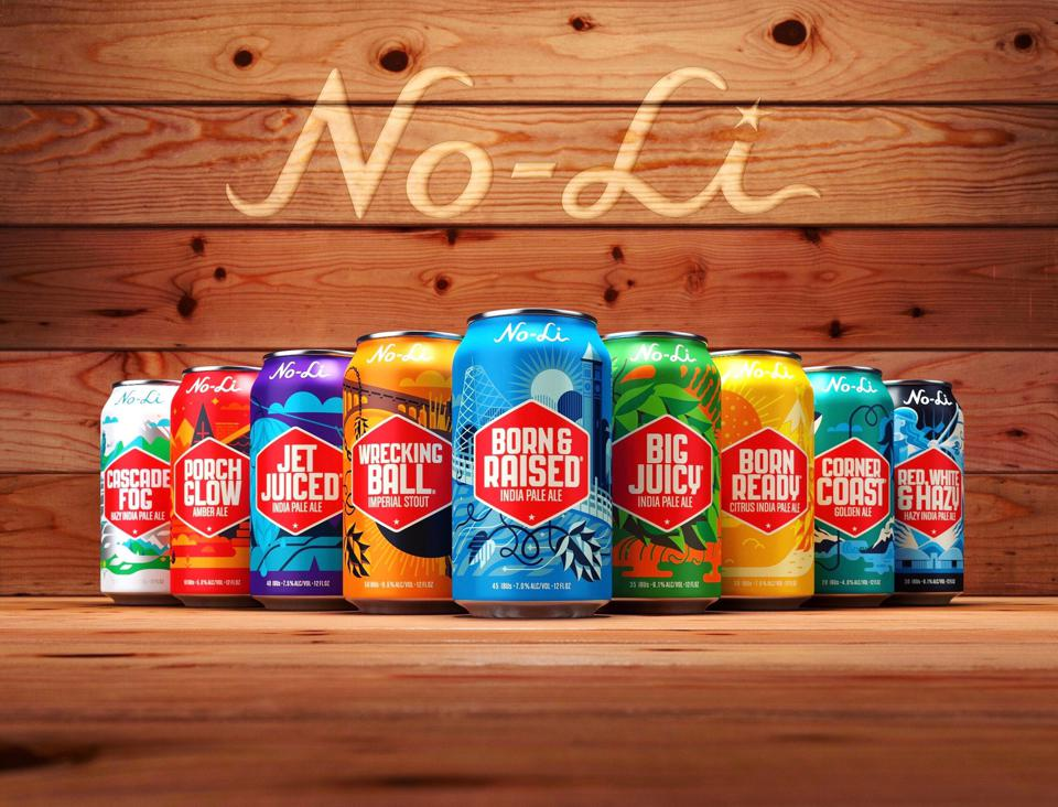 No-Li Brewhouse cans