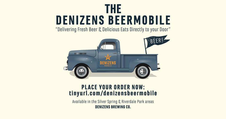 Denizens Brewing beer delivery