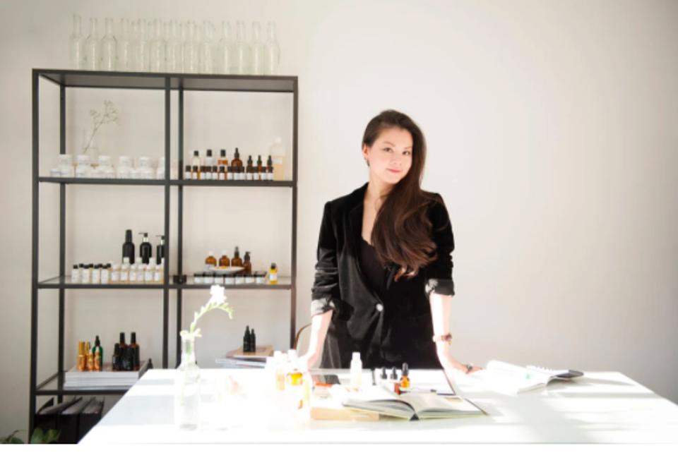 London's top celebrity facialist and found of 001 Skincare, Ada Ooi