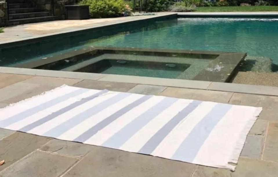 Hamptons Beach Towel from Riley