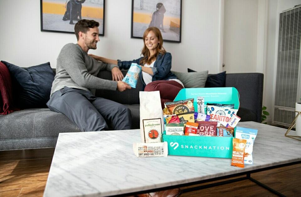 SnackNation snack subscription box