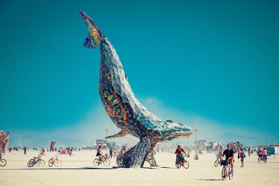 Burning Man The Pier Group