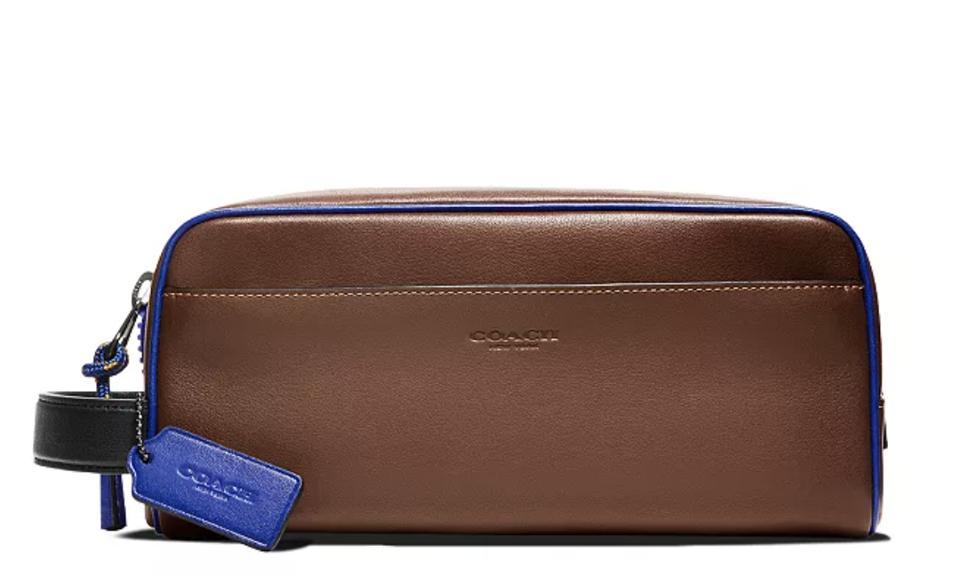 COACH Leather Travel Kit