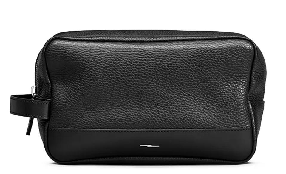 Shinola Luxe Leather Toiletry Kit