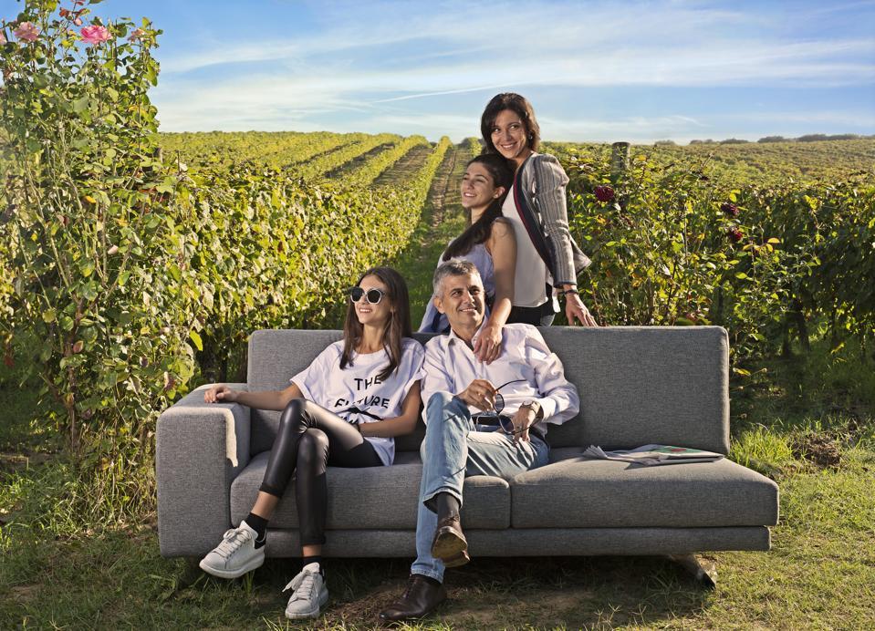 Piero Mastroberardino and family