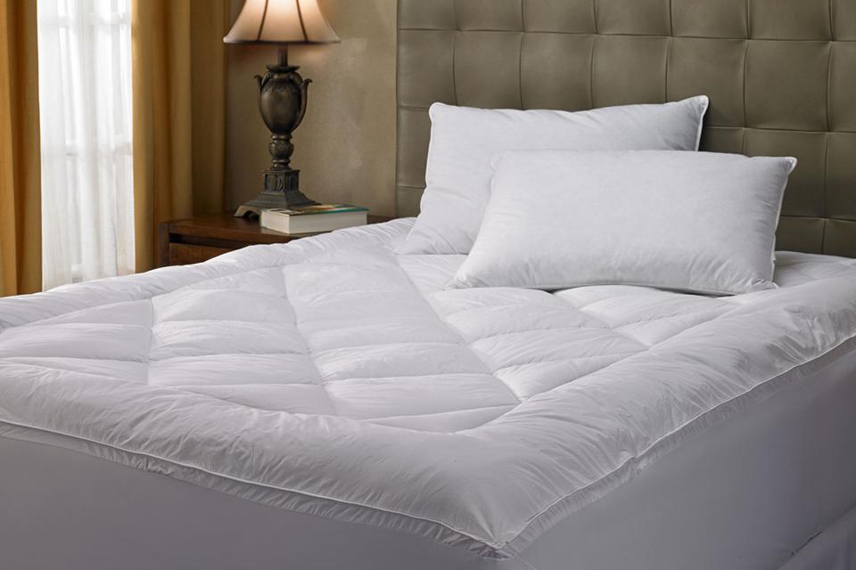 The Waldorf-Astoria mattress topper.