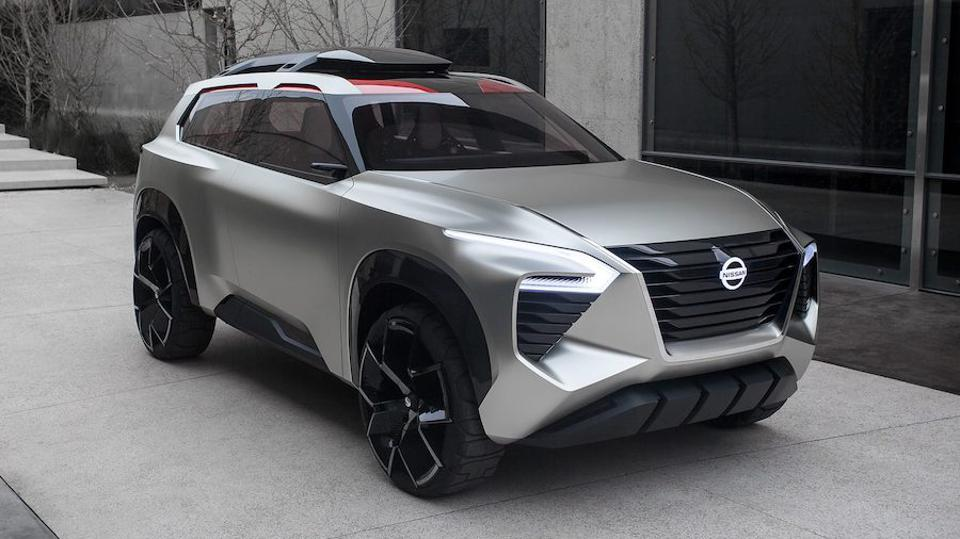 Nissan S Detroit Show Suv Expected To Morph Into X Trail With Next Gen 4wd Hybrid
