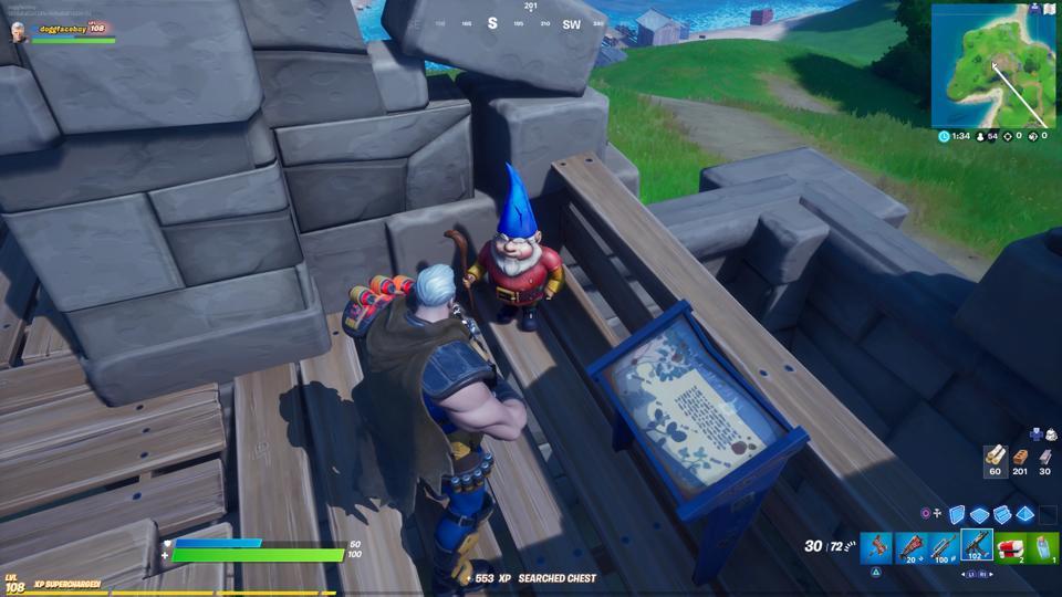 Gnome Fortnite Fort Crumpet