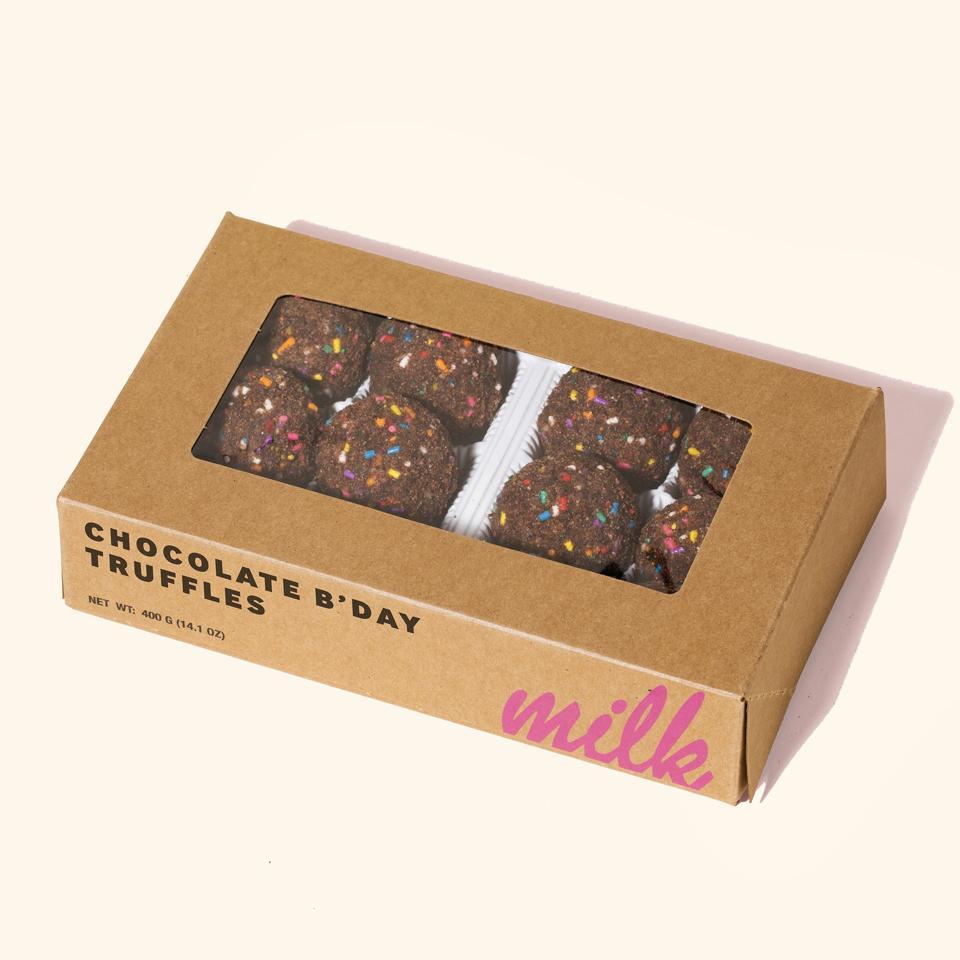 Milk Bar Chocolate B'Day Truffle Dozen Box