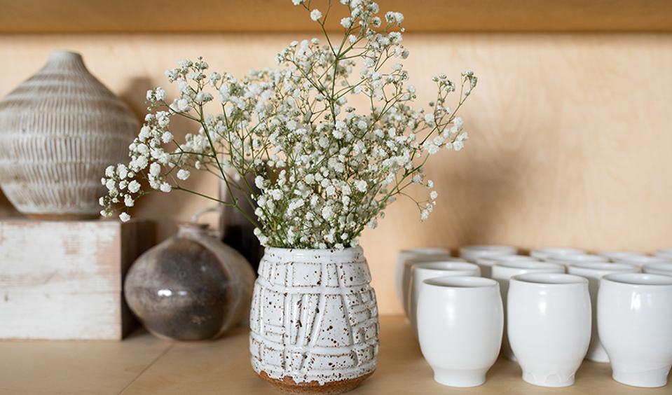 Parachute Handmade Ceramic Vase