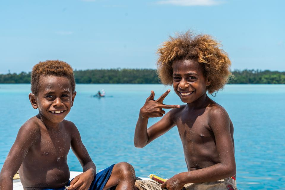 Pelorus yacht expeditions provide a unique glimpse of life in the Solomon Islands and other remote locations.