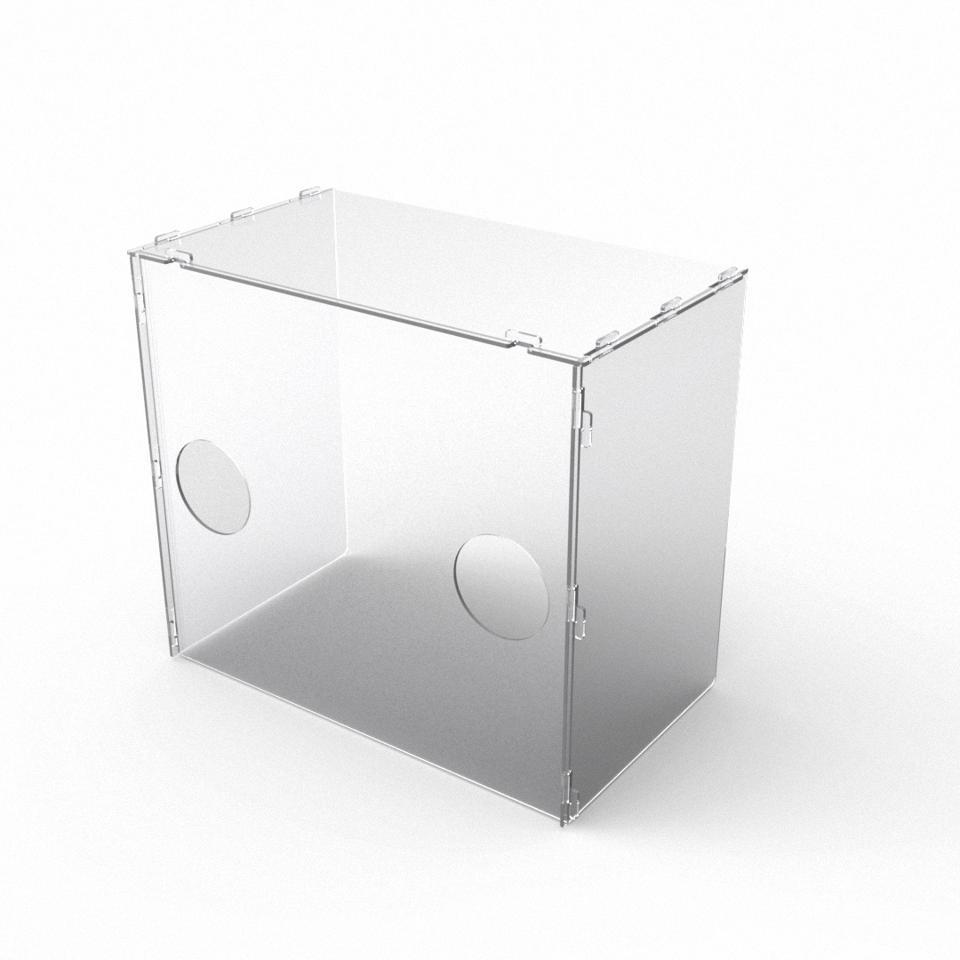 3d printing, aerosol box, PPE, model no., coronavirus, COVID-19