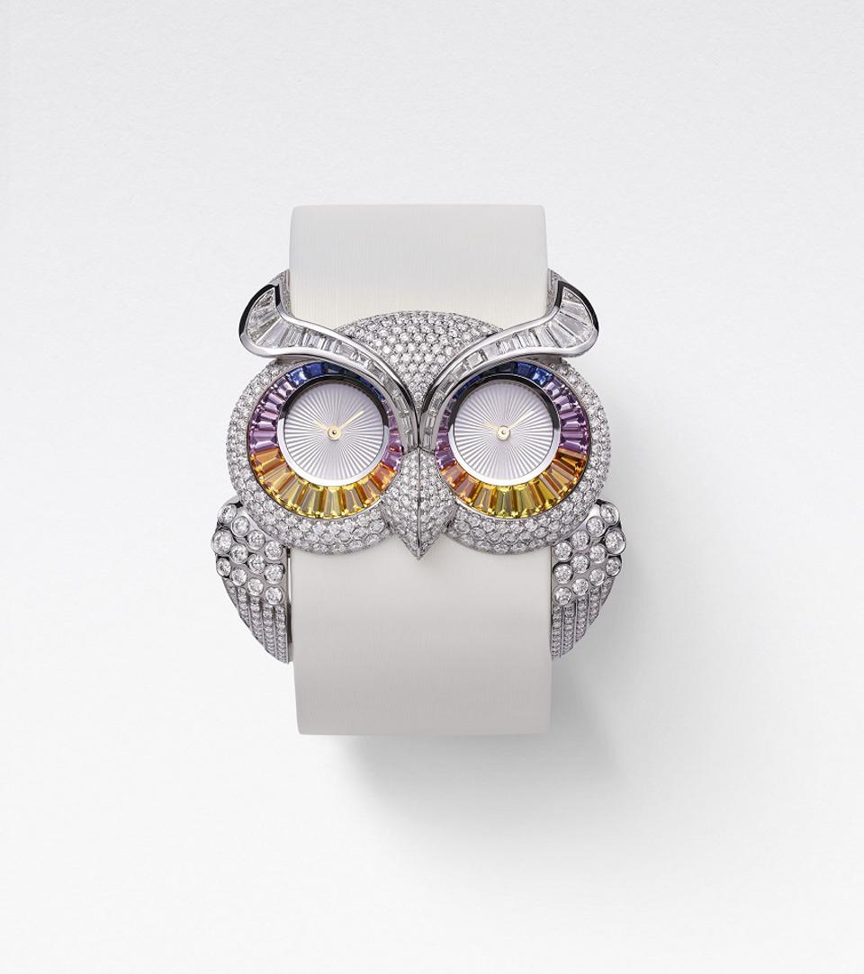 Chopard Owl Timepiece from the 2020 Red Carpet Collection