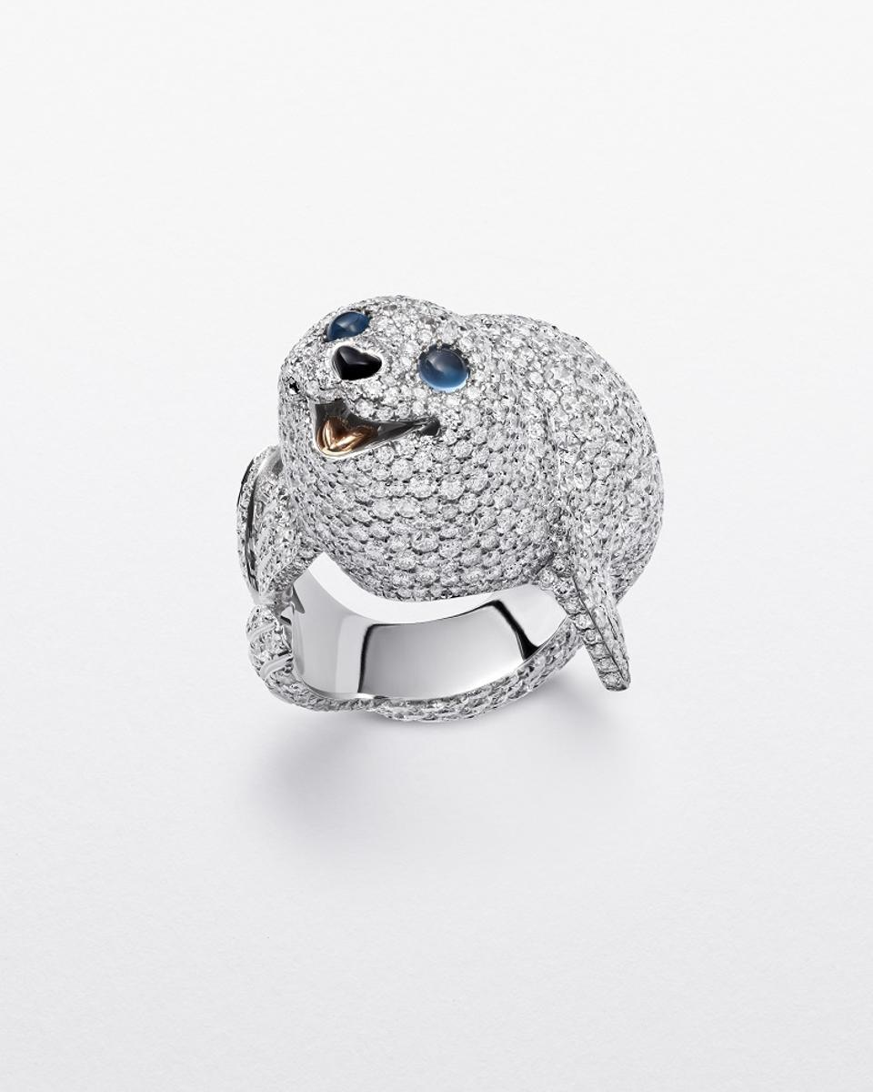 Chopard Seal Ring from the 2020 Red Carpet Collection