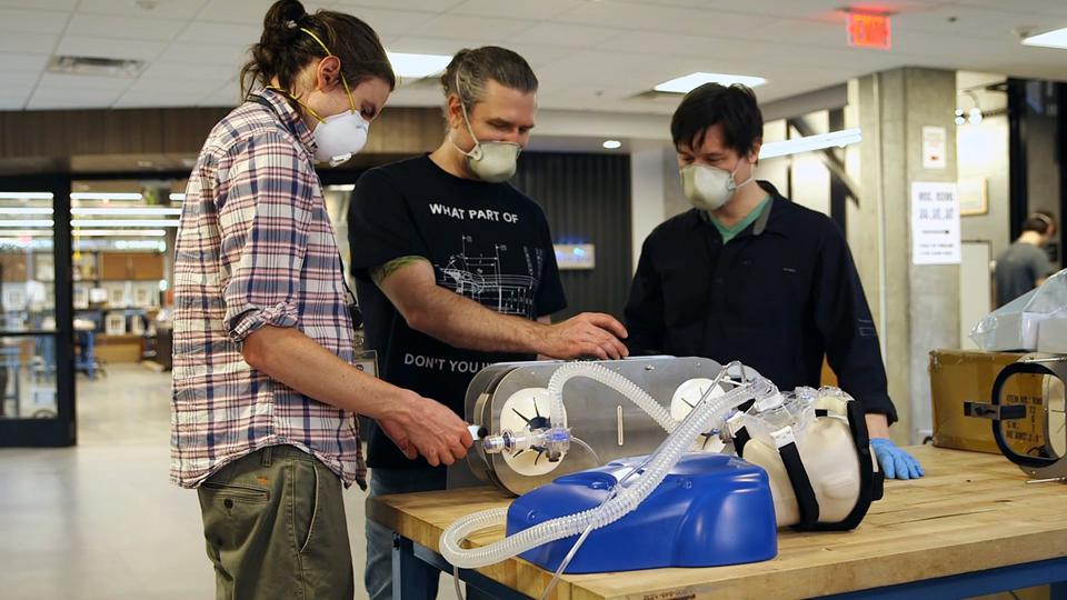 Researchers at Georgia Tech evaluate operation of a simple, low-cost ventilator based on the resuscitation bags carried in ambulances.