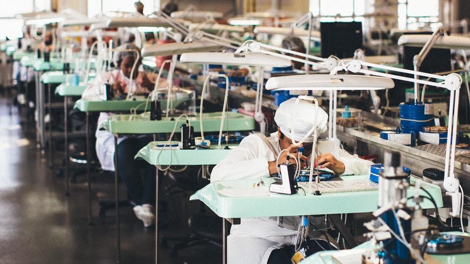 Shinola detroit watch factory