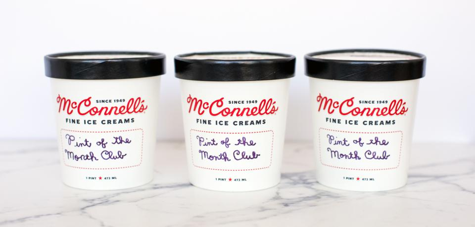 McConnell's Fine Ice Creams' Pint of the Month Club