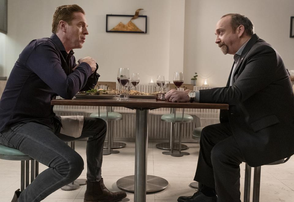 Showtime's ″Billions″ starring Damian Lewis and Paul Giamatti.