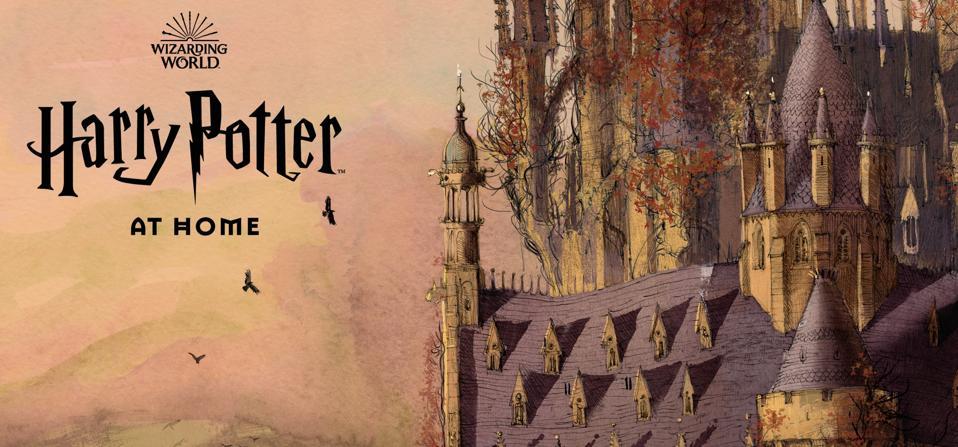 Harry Potter at Home Hub, via WizardingWorld.com