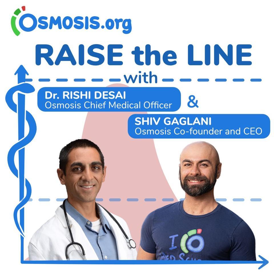 Dr. Rishi Desai and Shiv Gaglani host Raise the Line