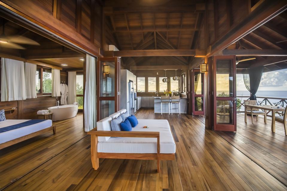 Secret Bay's Zabuco Villa Interior