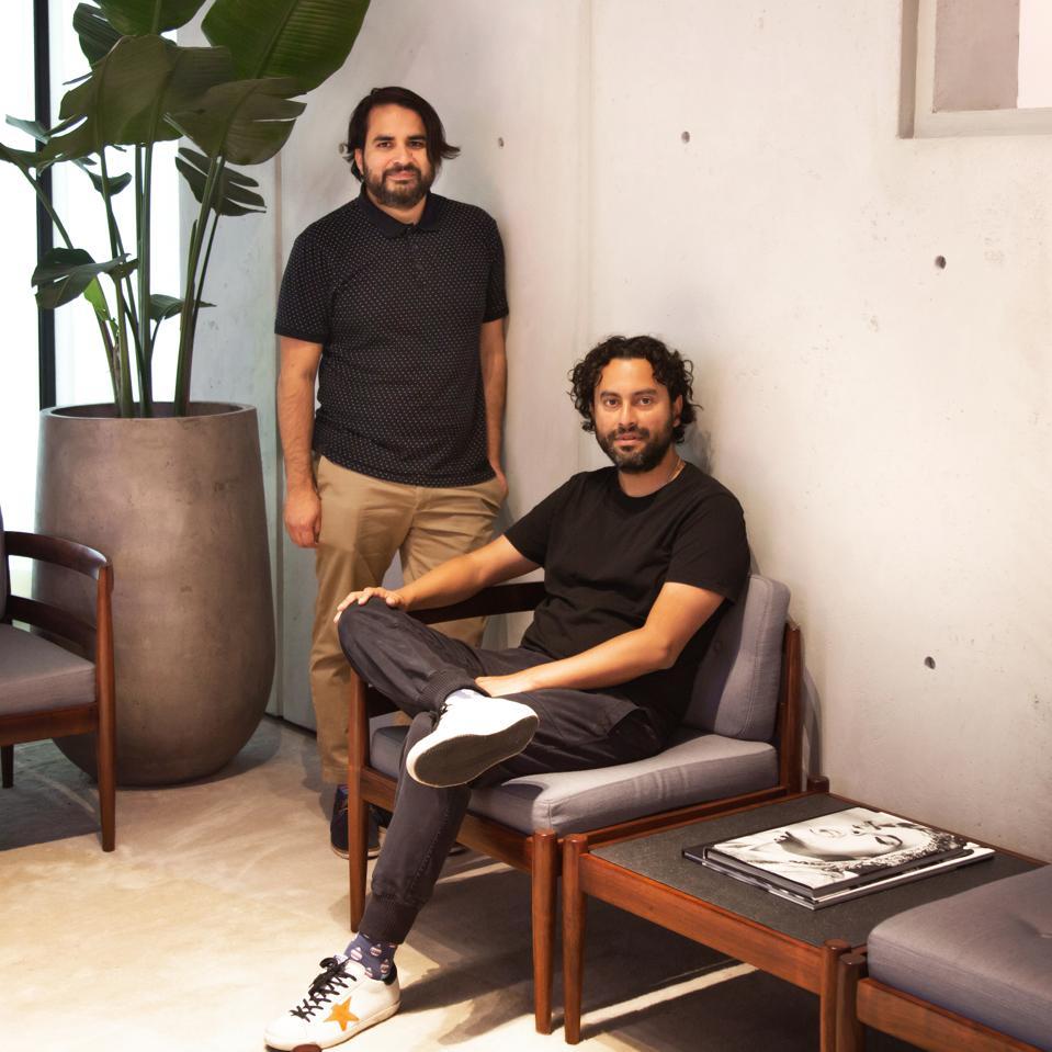 Gian Carlo Lanfranco and Rolando Cordova, Immigrants, Peruvians, advertising creatives