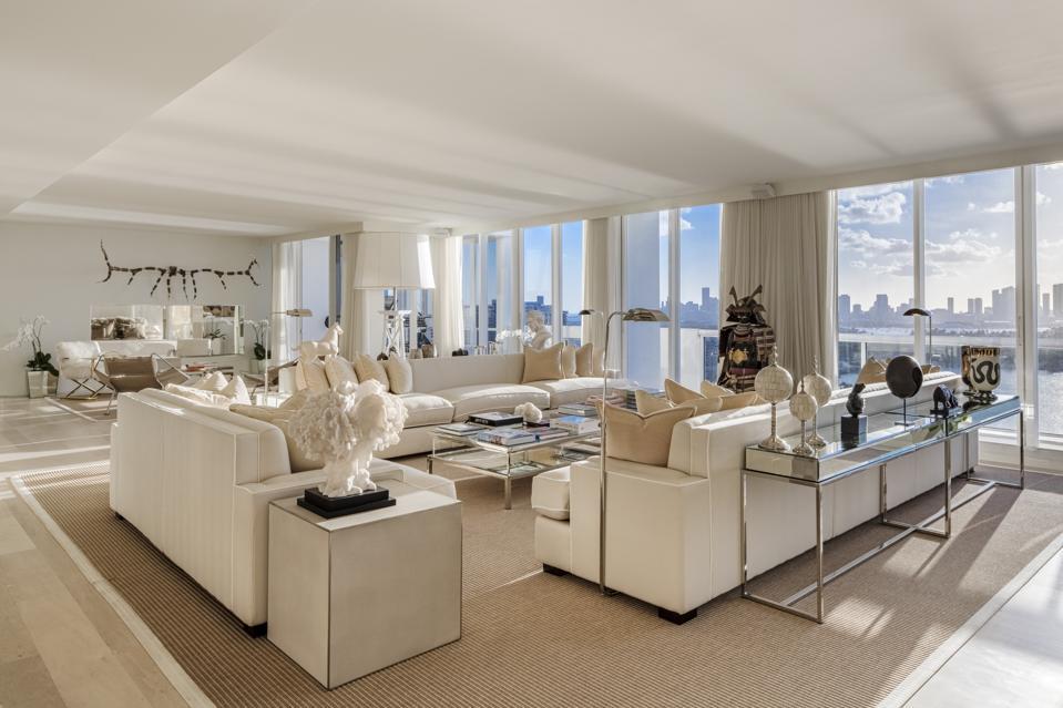 Gianluca Vacchi, penthouse, sunrise, sunset, MIami Beach