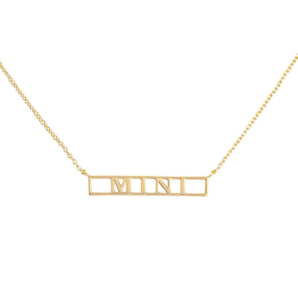 UNCOMMON JAMES Mini Bar Necklace