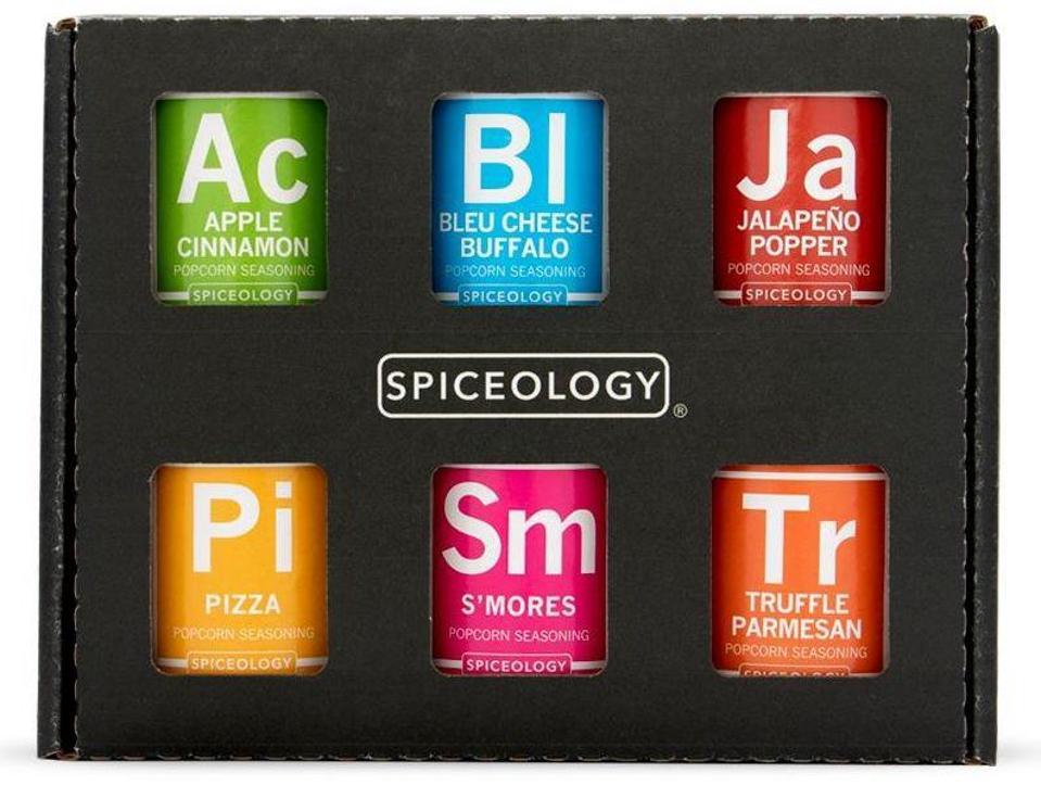 Spiceology Popcorn Seasoning Variety Pack
