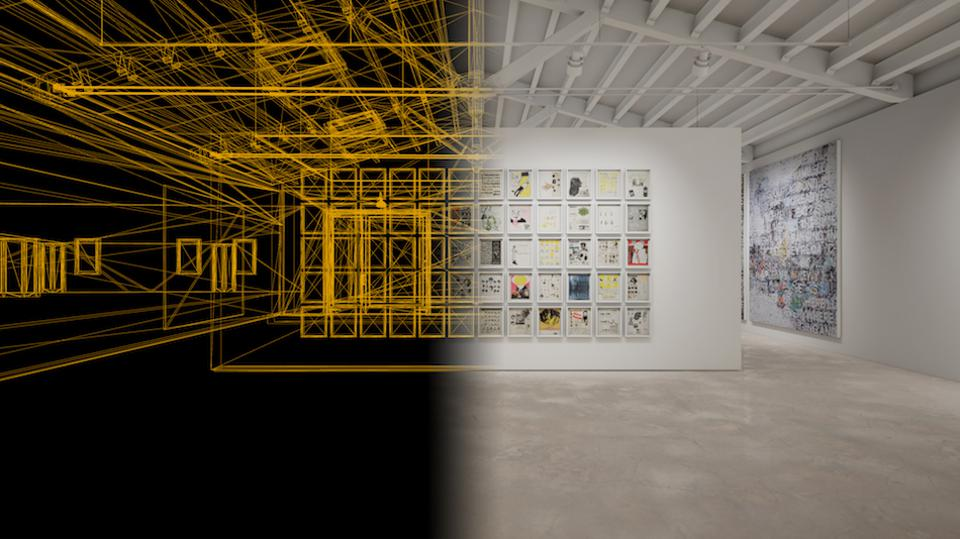 VR experience in a new art gallery in Spain