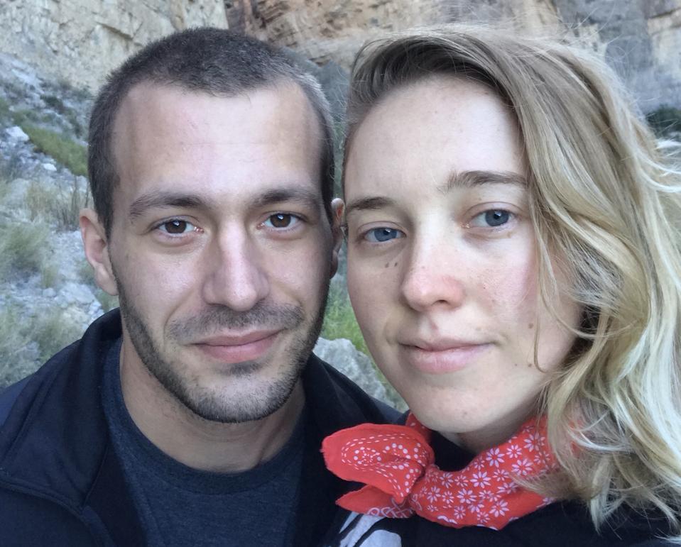 Sarah Ziegenhorn and Andy Beeler
