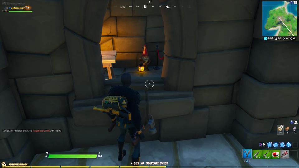 Gnomes Fortnite Fort Crumpet