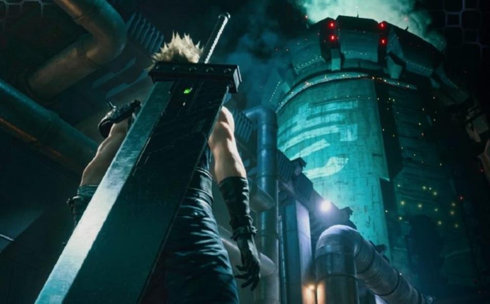 Final Fantasy VII remake, Final Fantasy 7 remake, cloud Tifa, cloud Aerith