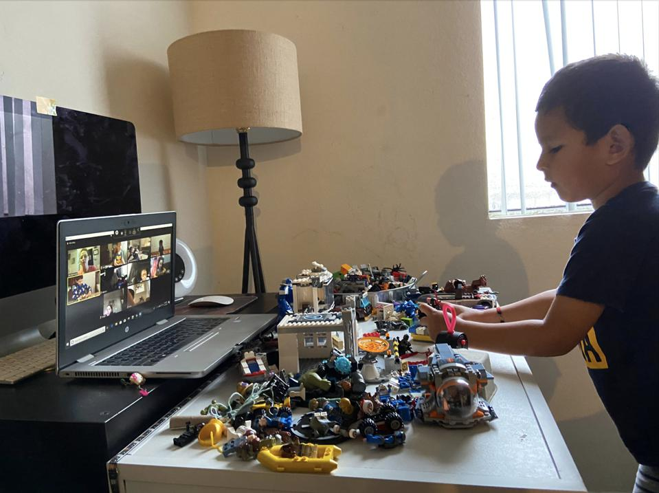 Outschool learner enrolled in Lego Club-Engineering Challenges