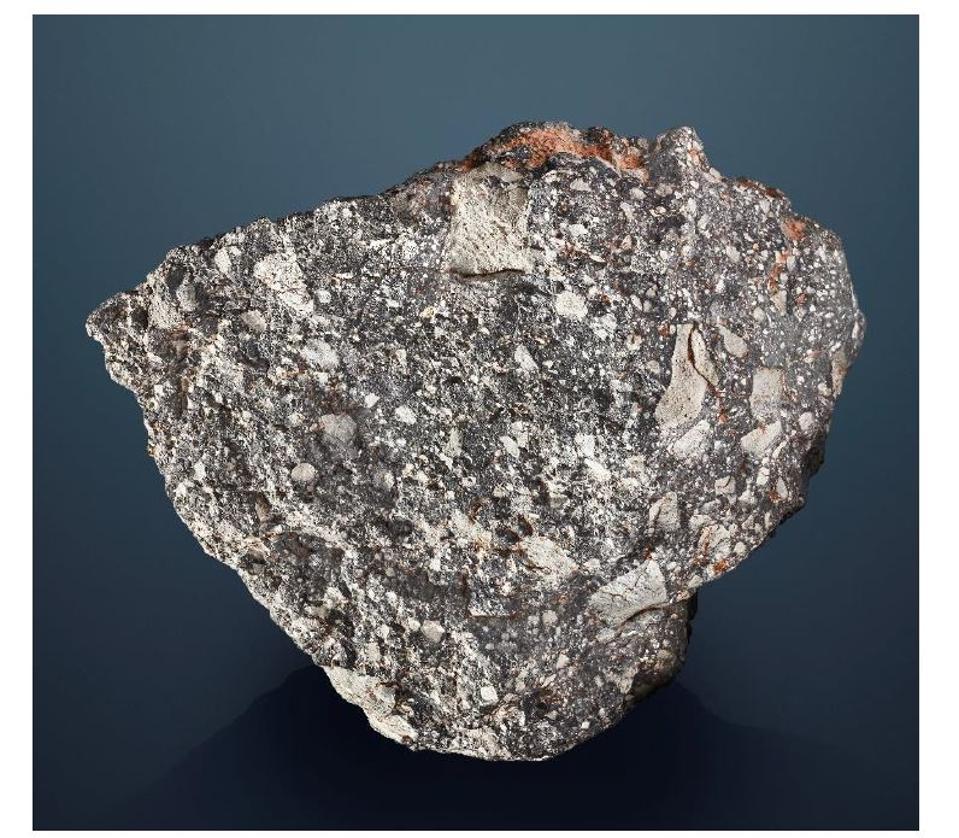NWA 12691 — The Fifth Largest Piece Of The Moon On Earth, Lunar Feldspathic Breccia, 13.535kg, Sahara Desert, Western Sahara