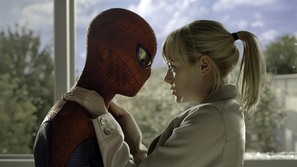 Andrew Garfield and Emma Stone in 'The Amazing Spider-Man'