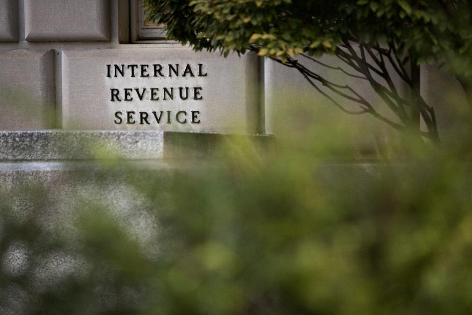 Views Of The IRS Headquarters As Congress Debates Tax Reform