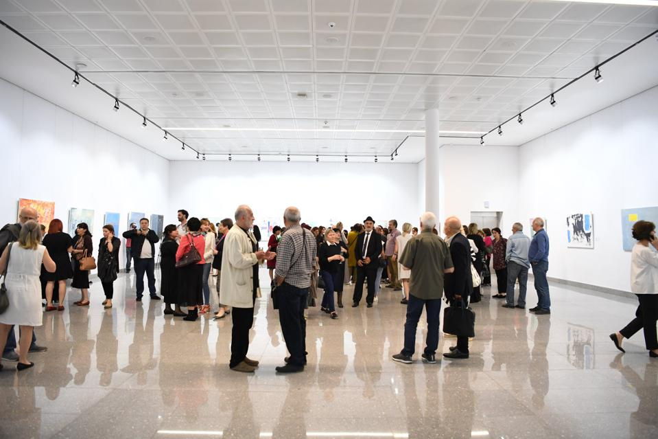 Exhibitions by curator Nino Macharashvili often draw crowds as well as heated conversations.