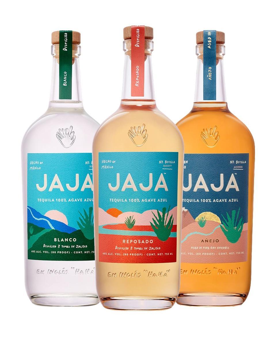 The JaJa Tequila core range