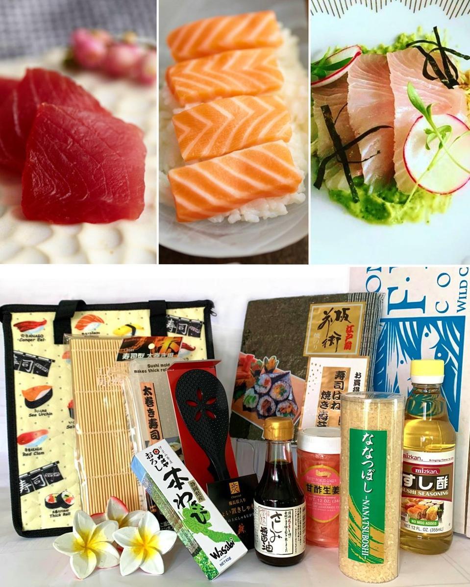 Honolulu Fish Co.'s Ichiban Home Sushi Kit,