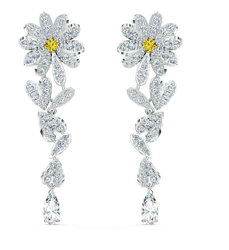 Swarovski Eternal Flower Pierced Earrings
