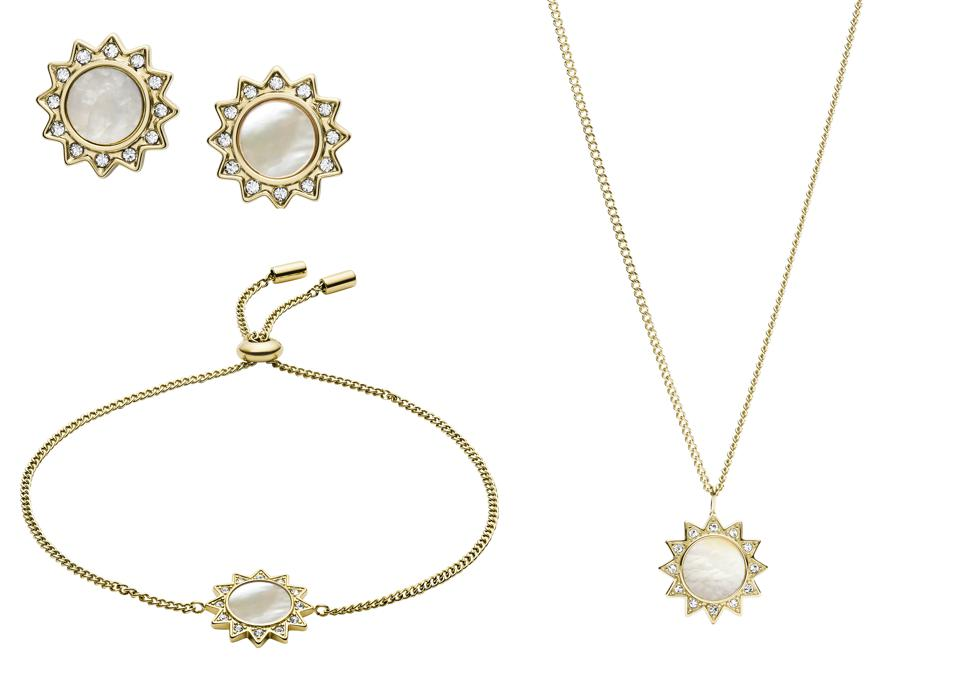 You Are My Sunshine Collection (Necklace, Bracelet and Earrings) - $130