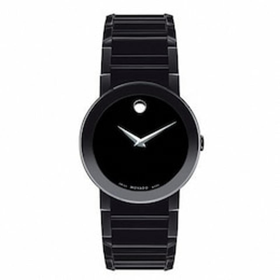 Men's Movado Sapphire Black PVD Watch