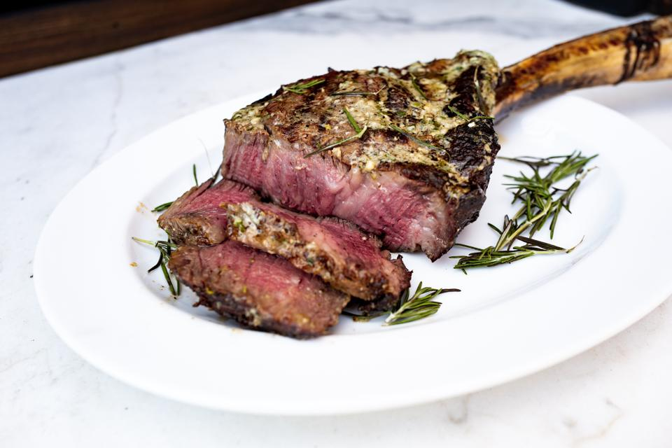 Pat LaFrieda Dry-Aged USDA Prime Black Angus Tomahawk Steak