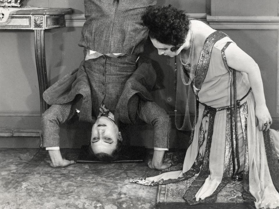 Images of 'Le Brasier ardent' from la Cinémathèque française