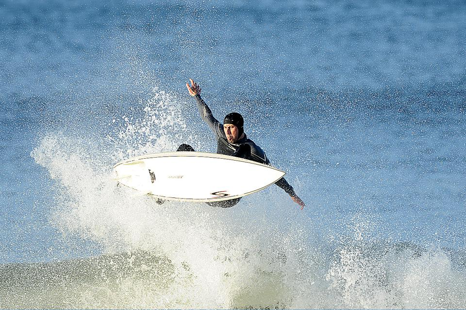 founder/CEO of Airfield Supply surfing